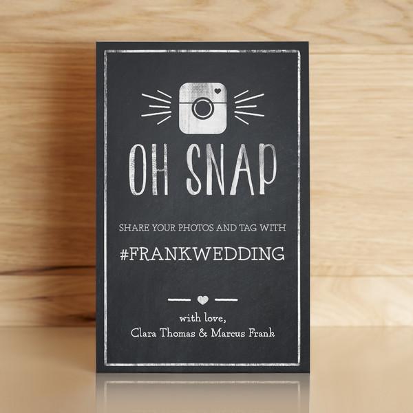 1459167751053 Instagram Sign Waltham wedding invitation