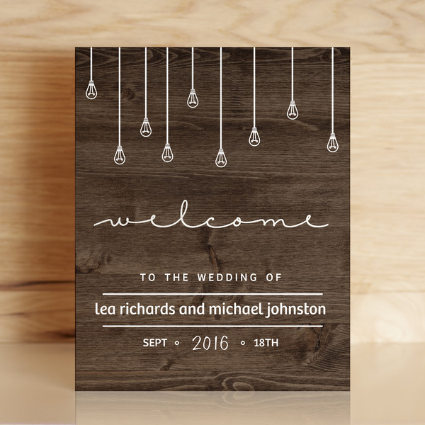 1459167776143 Wood Wedding Sign Mockup Waltham wedding invitation