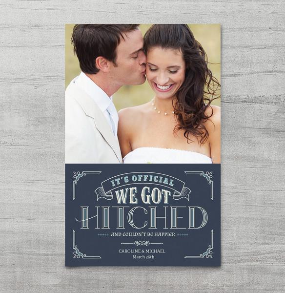1460729203568 We Got Hitched Mockup Waltham wedding invitation