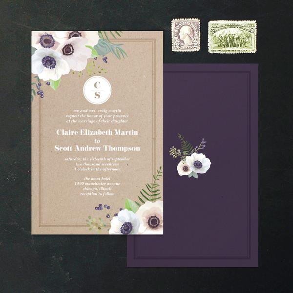 1488378288109 Invite Florals Corners Waltham wedding invitation