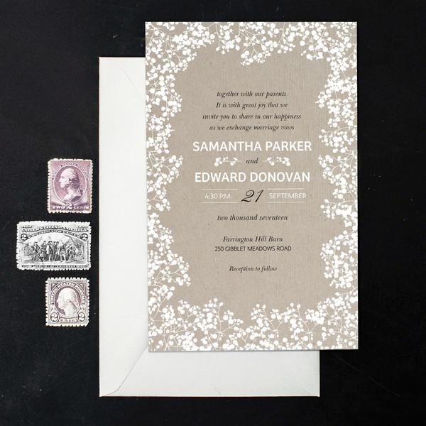 1488378322231 Jennbabys Breath Waltham wedding invitation