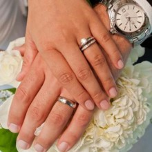 220x220 sq 1428103304400 weddingrings