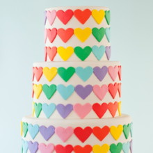 220x220 sq 1417619060762 colorful cakes wild orchid baking company