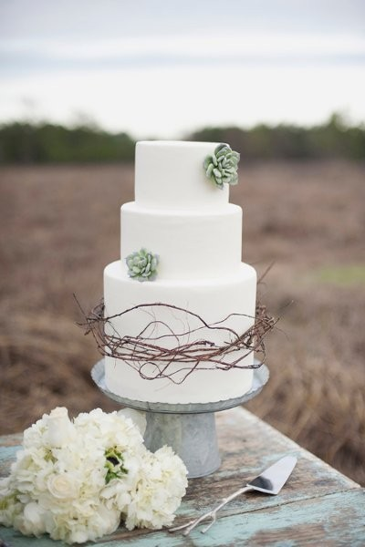 Summer Wedding Cakes Photos By Christa Elyce