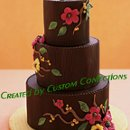 130x130 sq 1364568274135 chocolateweddingcake