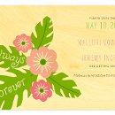 130x130 sq 1348511809637 hibiscusblossomsavethedatewoodweddingd