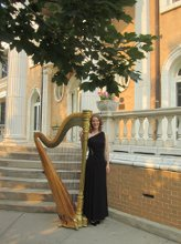 Harpist Ann Marie Liss photo