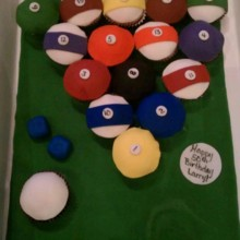 220x220 sq 1370465608294 billiardsbirthdaycupcakes.132155533large1