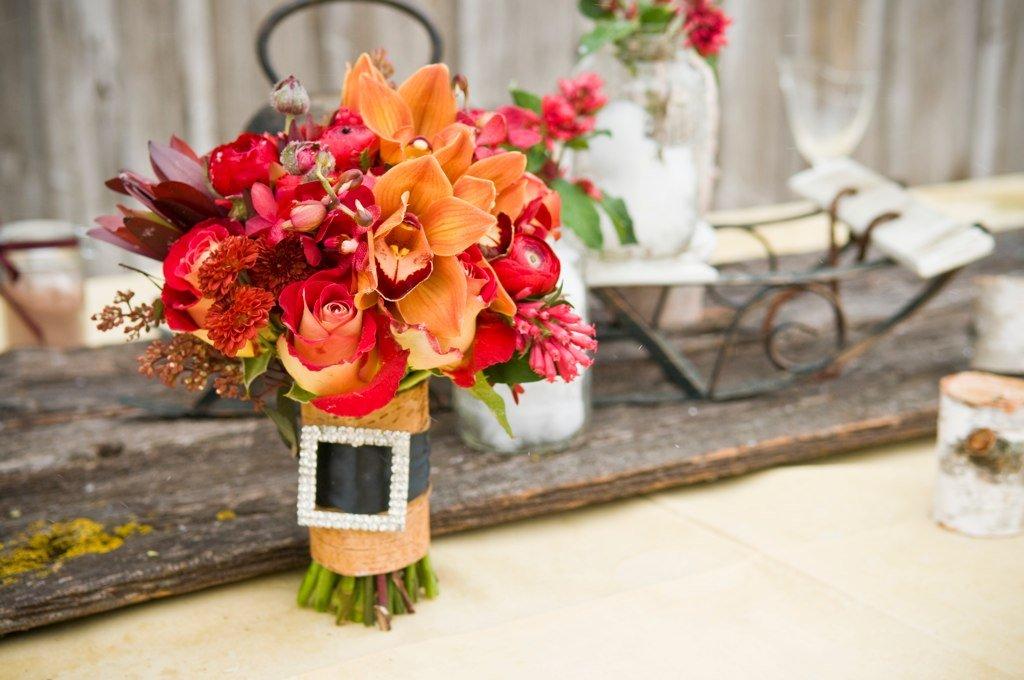 Fall Flower Bouquets Wedding Flowers Photos By Rachel A Clingen