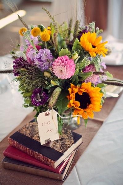 Rustic Centerpieces Wedding Flowers Photos By PANACEA Event Floral
