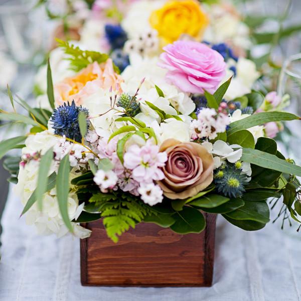 Wedding Wire Flowers: Rustic Centerpieces, Wedding Flowers Photos By David Lynn