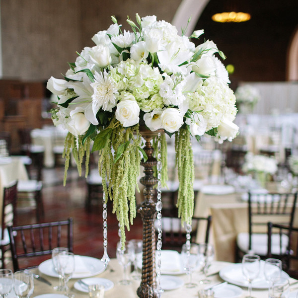 Tall Centerpieces, Wedding Flowers Photos by The Grovers - Image 1 of 15 - WeddingWire