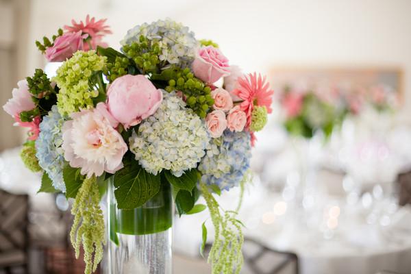 Hydrangea Arrangements, Wedding Flowers Photos by Candace Jeffery ...