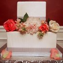 130x130 sq 1339098522448 pencilpleatsquareweddingcake