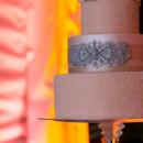 130x130 sq 1394738113134 sparkling blush pink cake with edible silver sas