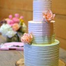130x130 sq 1402459452793 ombre buttercream cake with sugar roses and chocol