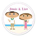 Custom Wedding Favor Stickers