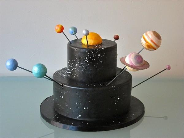 3d solar system birthday cake - photo #4