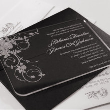 220x220 sq 1398892971622 acrylic wedding invitation jardin
