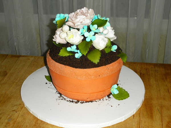 1389272739406 Pot  Lewes wedding cake