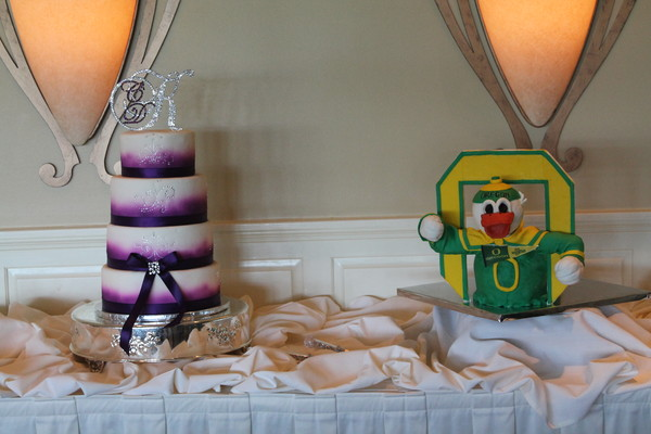 1453053064980 Baywood Pruple Duck Lewes wedding cake