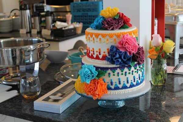 1453053403727 Mexican 2 Lewes wedding cake