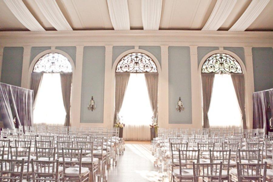 Indoor Ceremony Decor, Wedding Ceremony Photos By Jessica