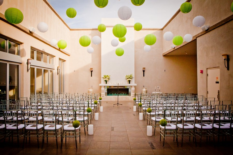 Indoor Ceremony Decor, Wedding Ceremony Photos By