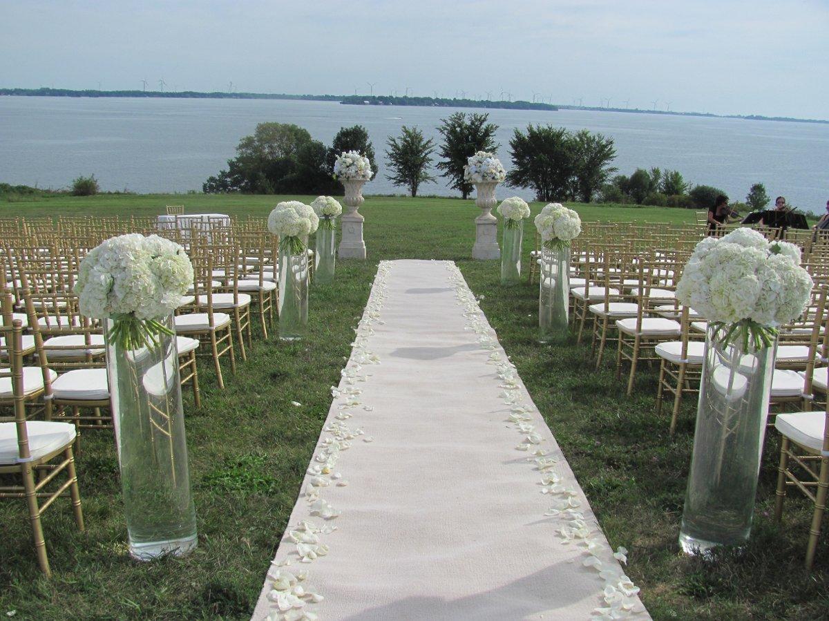 Outdoor Wedding Ceremony: Outdoor Ceremony Ideas , Wedding Ceremony Photos By Rachel
