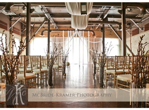 Indoor Ceremony Decor, Wedding Ceremony Photos By Pierpont