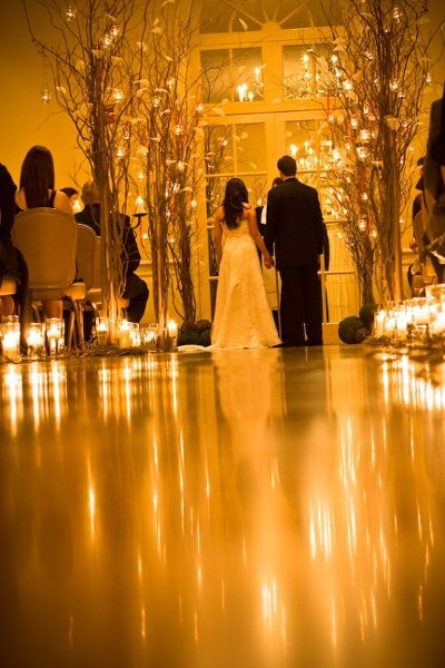 Lantern Amp Candle Decor Wedding Ceremony Photos By Zach