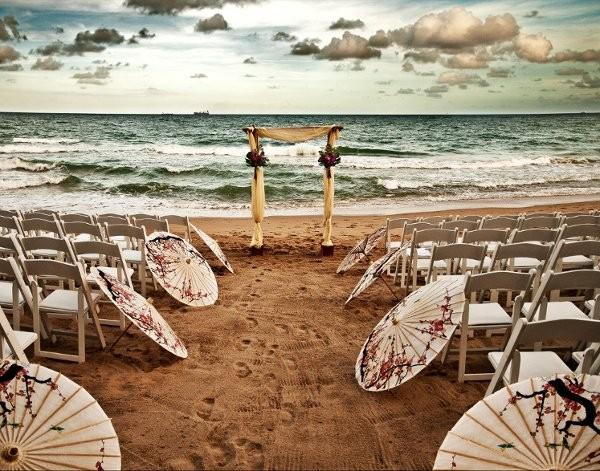 Beach Ceremony Ideas, Wedding Ceremony Photos By Jackie