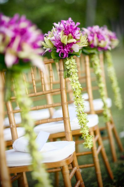 Hawaiian wedding decorations romantic decoration for Aisle decoration for wedding