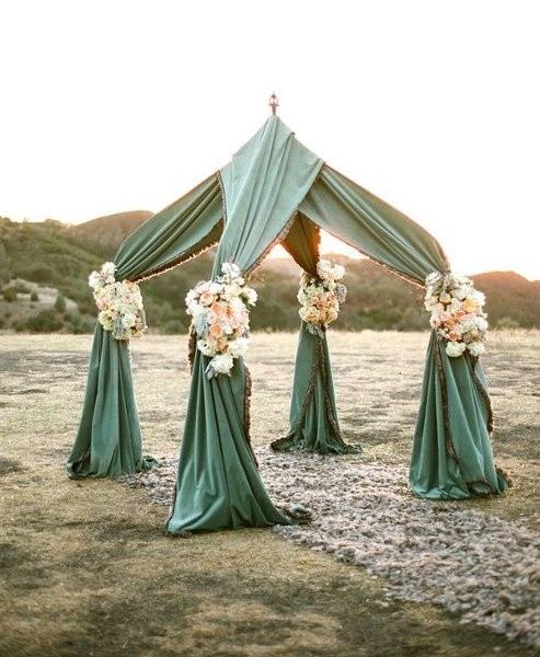 Ceremony Backdrops Wedding Ceremony Photos By Eventful