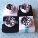 "NEW FOR 2014! ""Chic Rosettes Gift & Favor Boxes"" New For 2014 Sold in sets of 18 - 2x2"" Boxes $2.99/box (Style A with brads & ribbon) $2.79/box (Style B without brads & ribbon) The ""Chic Rosettes"" Gift and Favor boxes are beautiful keepsakes that are available in a variety of colors. They'll arrive to you fully decorated and ready to be filled. OR you can purchase a pack of candy from us and we'll fill them for you! http://3girlsprintdesign.wix.com/3girls#!chic-rosettes-gift-favor-boxes/c1z6y"