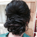 130x130 sq 1415845814006 bridesmaid hair no logo