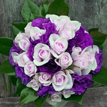 220x220 sq 1316579703229 purpleweddingflowers04