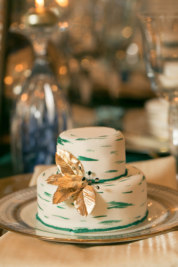 Emerald Green Decor Wedding Reception Photos By Erin