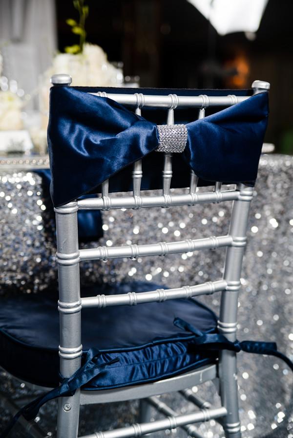 Sapphire Blue Decor Wedding Reception Photos By Carmen