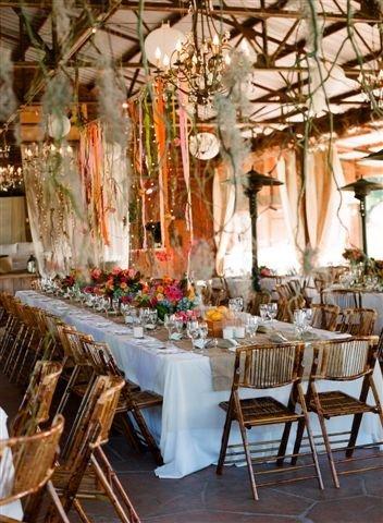 Rustic shabby chic vintage indoor reception outdoor for Indoor wedding reception decoration ideas
