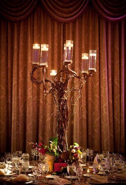 grape vine candelabra candleabra candle holder