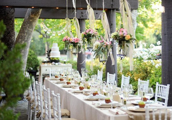 Garden Wedding Reception Decoration Ideas Choice Image - Wedding ...