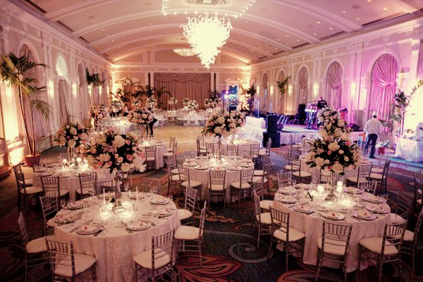 Reception decor ideas wedding reception photos by for Indoor wedding reception ideas