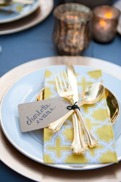 Table Place Setting Ideas Wedding Reception Photos By