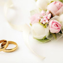 130x130 sq 1415071322548 wedding rings and flowers 59713001