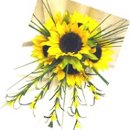 130x130 sq 1231396997125 sunflowersbouquet