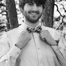 130x130 sq 1447100800192 groom shows off his bow tie durango wedding photog