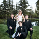 130x130 sq 1447101124594 fun bride with groomsmen durango wedding photograp