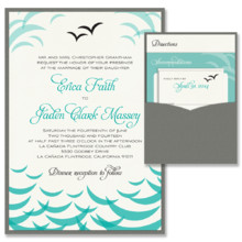 220x220 sq 1372796114972 ocean pocket wedding invitation beach coastal