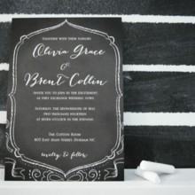 220x220 sq 1374510966304 chalkboard wedding invite